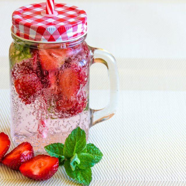 Fresa Refrescante, Bebidas Antioxidantes