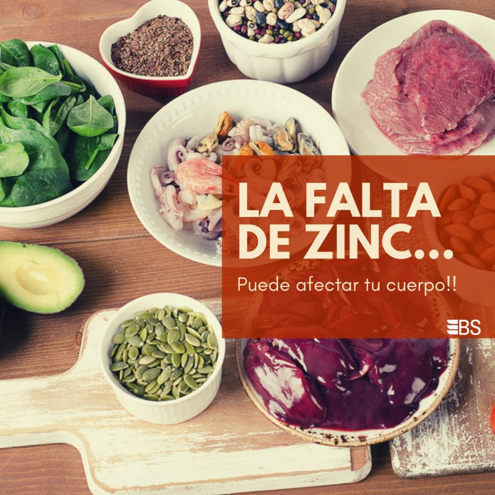 La Falta de Zinc Puede Afectar Tu Cuerpo
